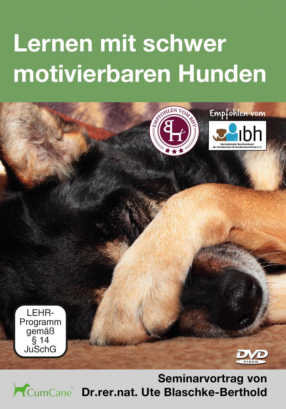 Lernen mit schwer motivierbaren Hunden mit Dr. Ute Blaschke-Berthold
